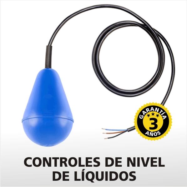 CONTROLES DE NIVEL DE LÍQUIDOS